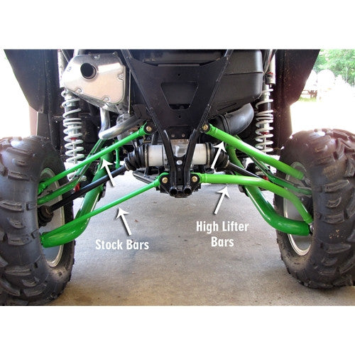 High Lifter Arctic Cat Wildcat 1000 Max Clearance Lower Arched Radius Bars
