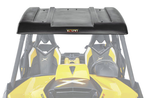 Can am tagged windshields cab enclosures awesomeoffroad kolpin can am maverick pro series roof sciox Images