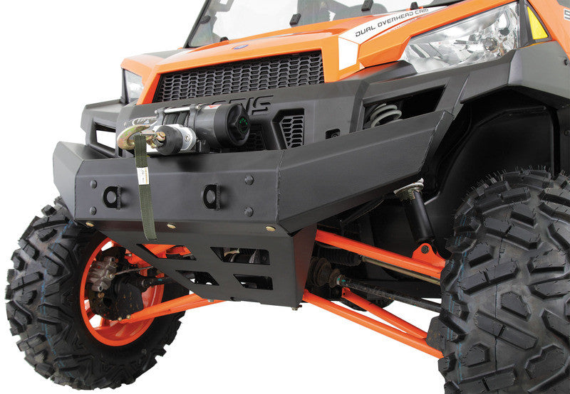 Polaris Ranger 900XP Front Bumper with warn 3500LB winch