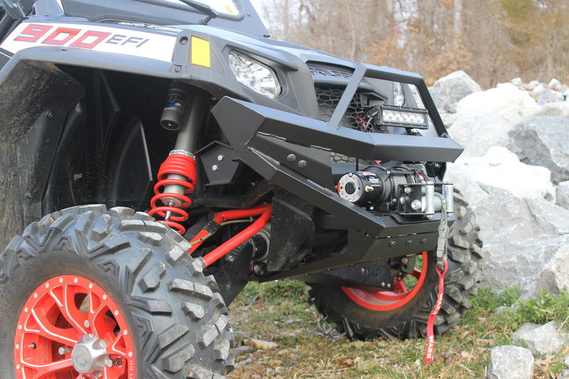"Polaris RZR 900 Heavy Duty Front Bumper with 10"" LED Light Bar"
