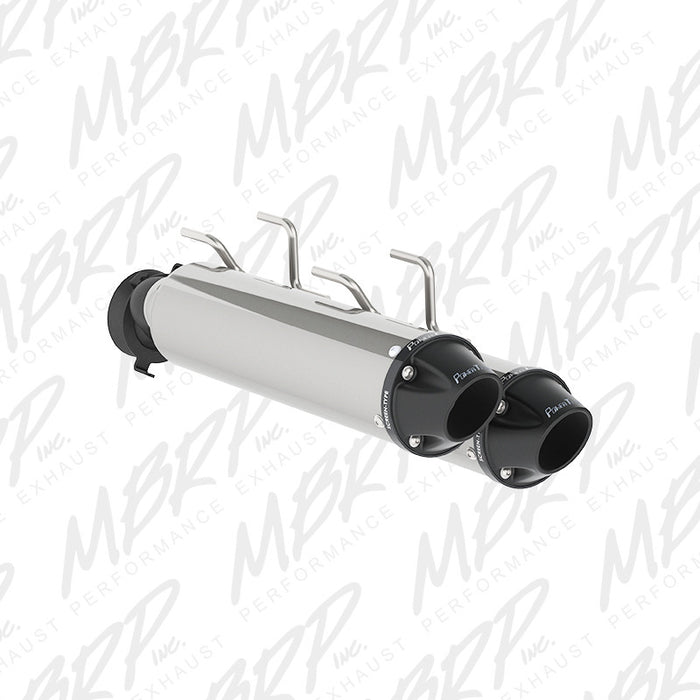 MBRP Dual Slip on Muffler for Arctic Cat Wildcat X