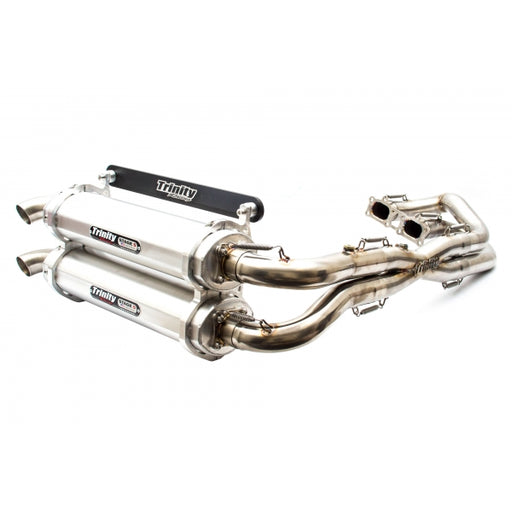 TRINITY RACING RZR XP 1000 DUAL FULL EXHAUST 15-19