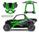 Octane Ink Wrap for Wildcat XX - 6-KINETIC - GREEN-PURPLE