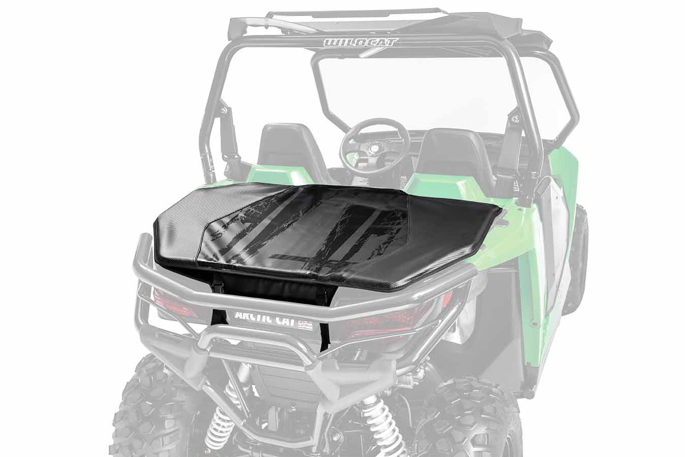 Arctic Cat Black Trunk Bag - Wildcat Trail / Sport