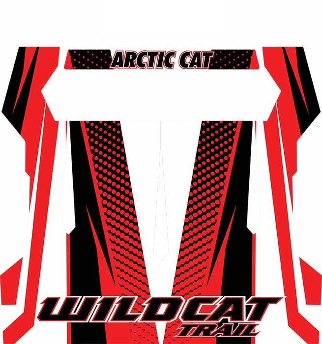 Arctic Cat Wildcat Trail / Sport XT Cat Wrap Roof Graphic