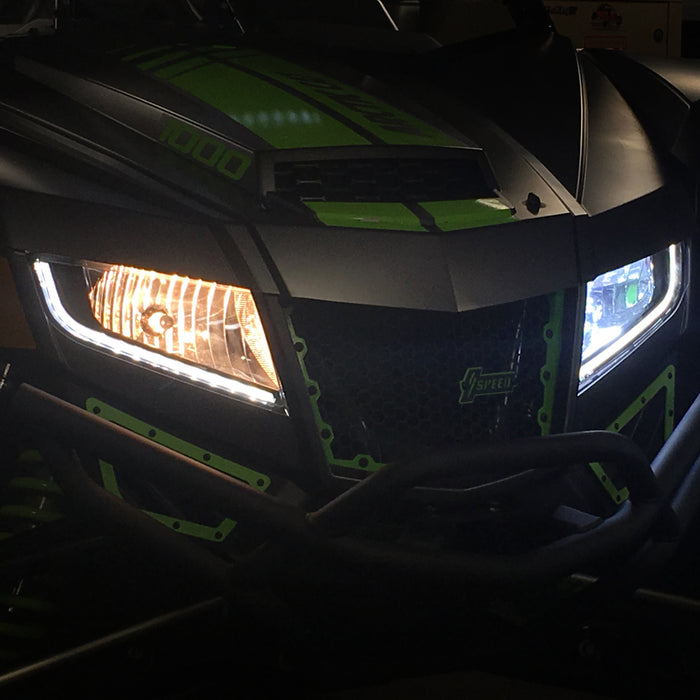 LED H13 Head Light Bulb for Wildcat XX by AWESOMEOFFROAD