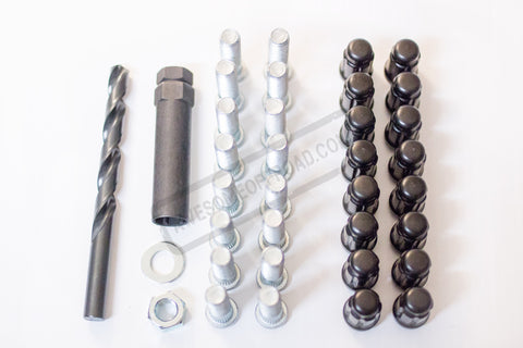 MLS & AWESOMEOFFROAD 12MM Wheel Stud Kit for Arctic Cat
