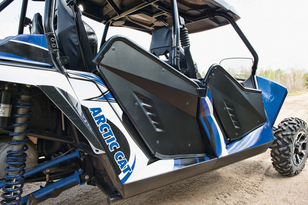 Rear Aluminum Doors Kit for Wildcat 4