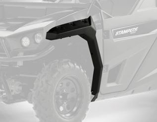 Textron Off Road Stampede Front Fender Flares