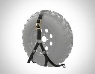 Textron Off Road Spare Tire Mount Stampede & Havoc X