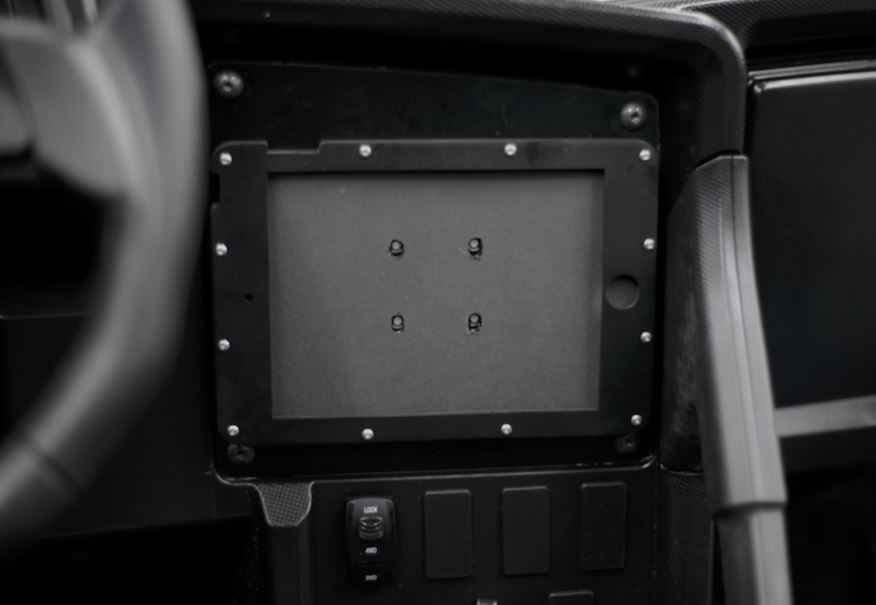 SPEED iPad Center Console Mount for Wildcat XX
