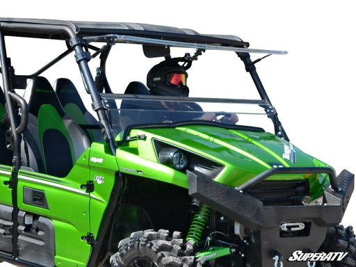 Kawasaki Teryx 750 / 800 Scratch Resistant Flip Windshield by Super ATV