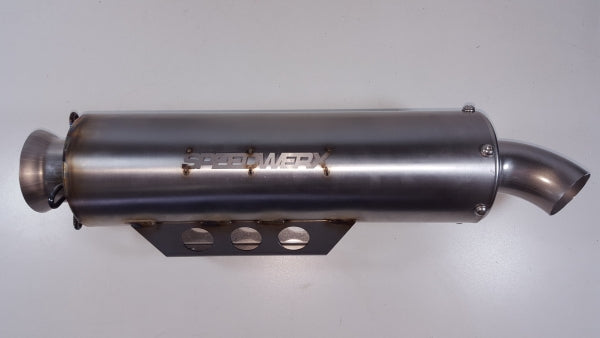 L2 Series Stainless Steel Slip-On Exhaust for Wildcat XX
