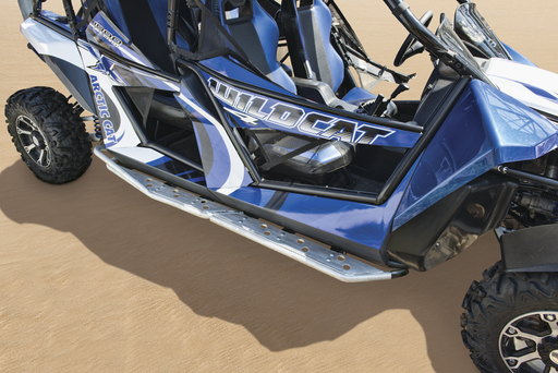 Arctic Cat Aluminum Step Rail Extensions - Wildcat 4