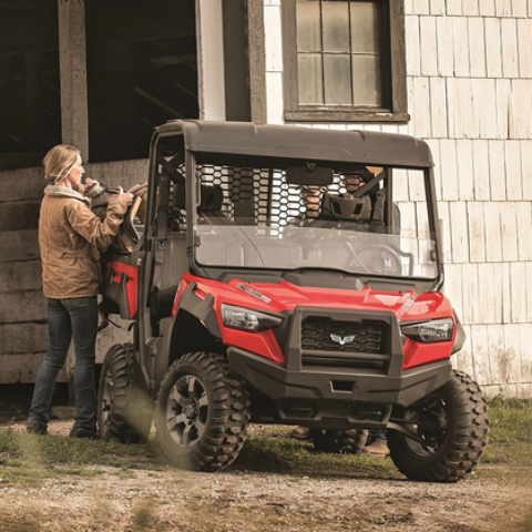 Textron Off Road Economy Half Windshield for Prowler Pro
