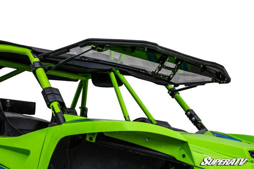 Textron Off Road Wildcat XX Flip Up Windshield by Super ATV