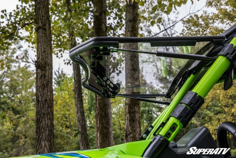 Arctic Cat/Textron Off Road Wildcat XX Flip Up Windshield by Super ATV
