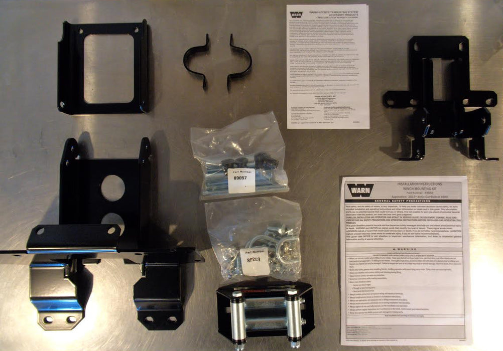 Warn Under Hood Winch Mount 89050