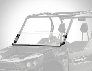 Textron Off Road Half Windshield Stampede & Havoc