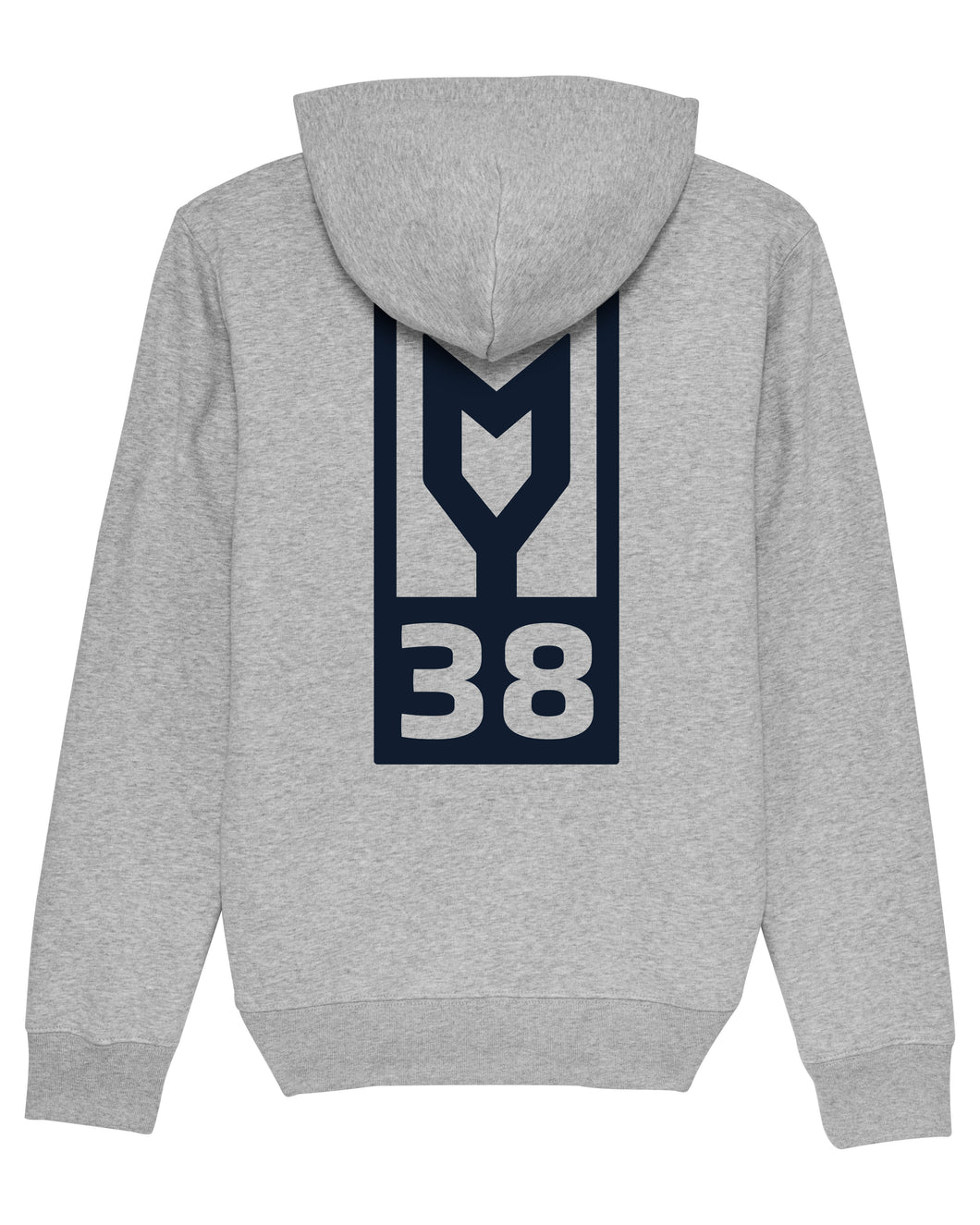 Hoodie MY38 Erwachsene heather grey
