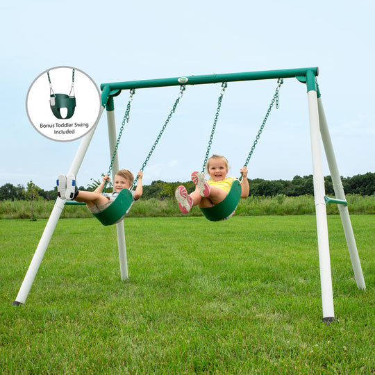 Mini Brutus Metal Swing Set#main