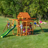 Monticello Wooden Swing Set #main