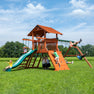 Mountaineer Deluxe Wooden Swing Set #main