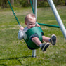 Mini Brutus Metal Swing Set Infant