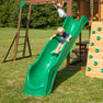 Skyfort II With Vac Slide Boy on Slide