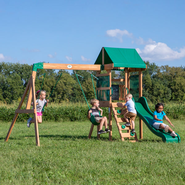 Buckley Hill Wooden Swing Set