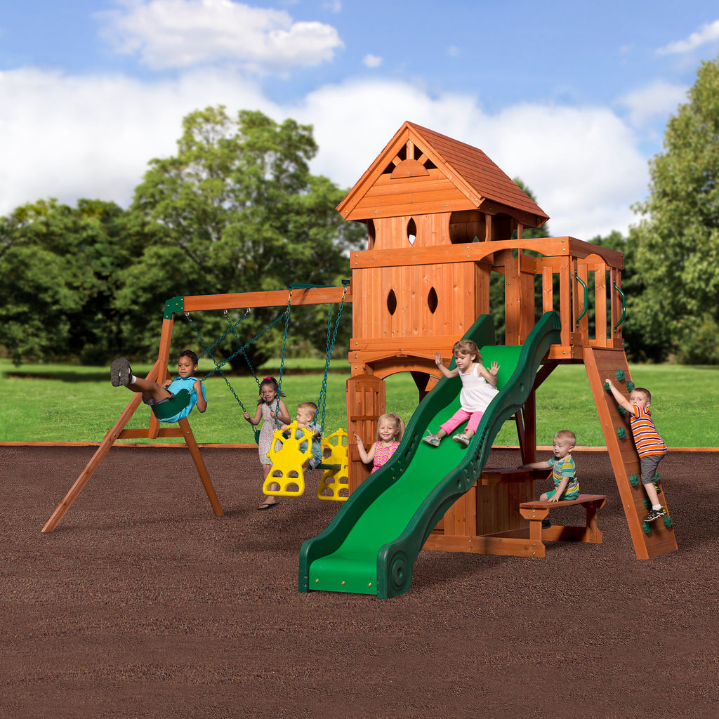 Wooden Swing Sets Playhouses Playsets Backyard Discovery