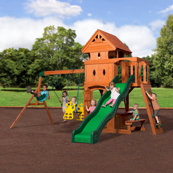 Wooden Swing Sets And Metal Swing Sets Backyard Discovery