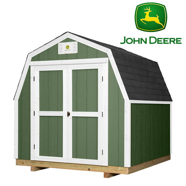 Ready Shed John Deere 8 X 8-Feet#features