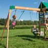 Buckley Hill Swing Set Swings