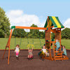 Backyard Discovery Playsets - Prestige Wooden Swing Set