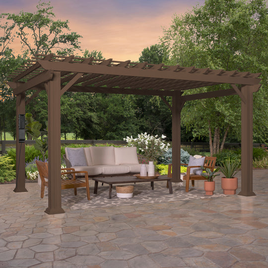 14x10 Ashford traditional Steel Pergola #main