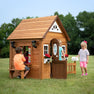 Wooden Playhouses - Aspen Playhouse#main