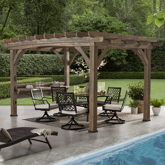 Silverton 14 x 10 Pergola With Electric#main