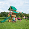Belmont Wooden Swing Set #main