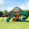 Bristol Point Wooden Swing Set#main