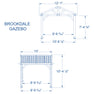 Brookdale Gazebo Diagram