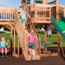 Backyard Discovery Playsets - Caribbean Wooden Swing Set