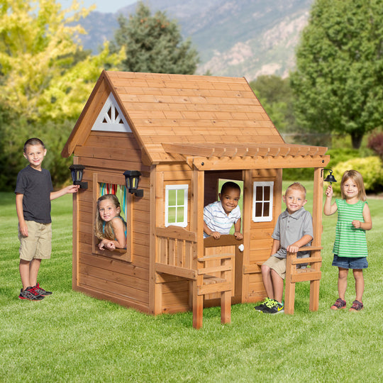 Wooden Playhouses - Cascade Playhouse #main