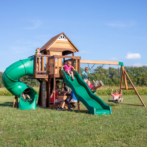 Cedar Cove Wooden Swing Set