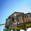 Eagles Nest Elite Wooden Swing Set