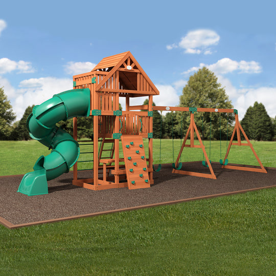 Backyard Odyssey Swing Sets - Excursion Wooden Swing Set #main