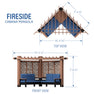 Fireside Cabana Pergola Diagram