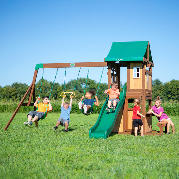 Lakewood Wooden Swing Set