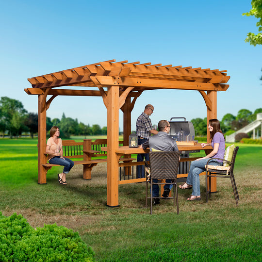 Patio Products - Oasis 12 X 10 Pergola #main
