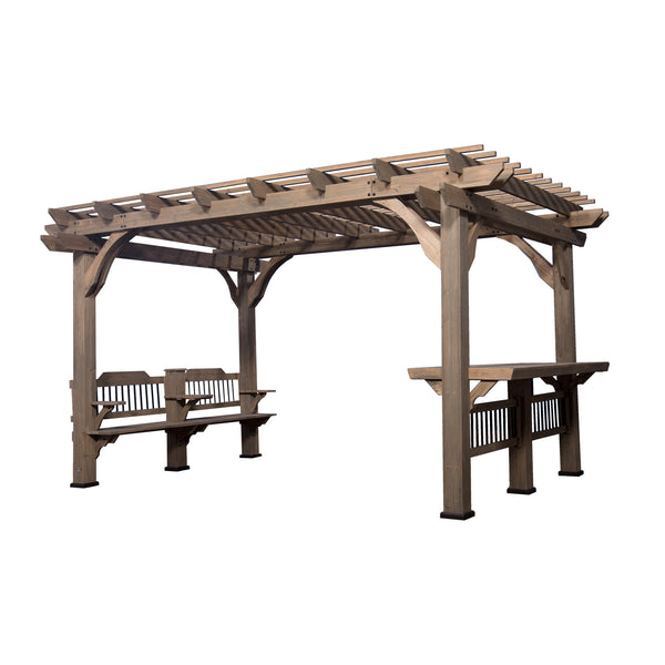 Oasis 14 x 10 Pergola With Electric#features